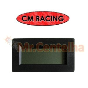 DISPLAY DIGITAL CM RACING PARA LEITURA DE SONDA LAMBDA